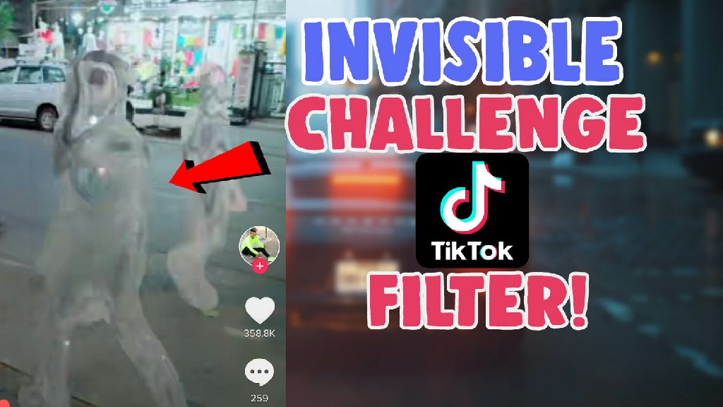 invisible hide me filter effect tiktok