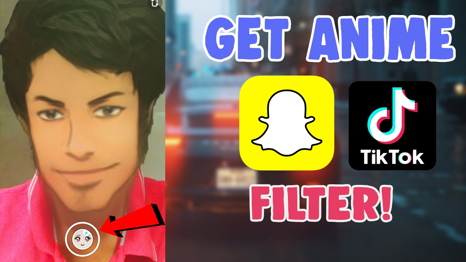 How To Get Tiktok Comic Anime Cartoon Filter Effect And Snapchat Instagram Salu Network