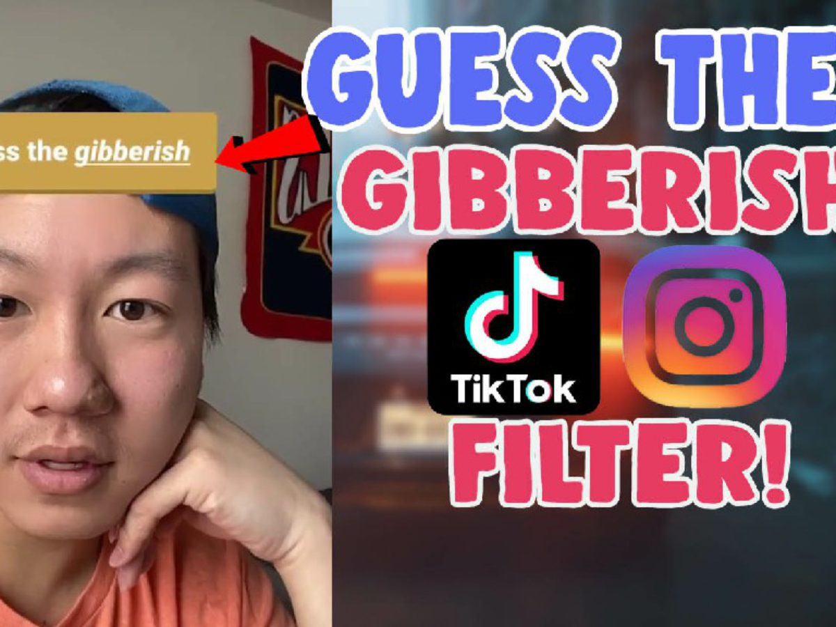 How To Get Guess The Gibberish Incoherent Game Filter Tiktok And Instagram Salu Network