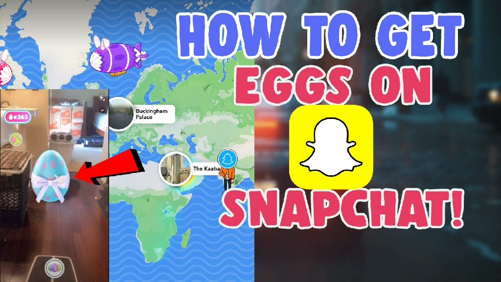 how to get eggs on snapchat