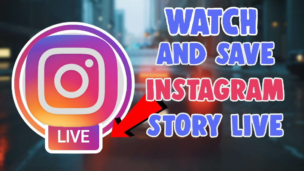 how to watch and save instagram live pc