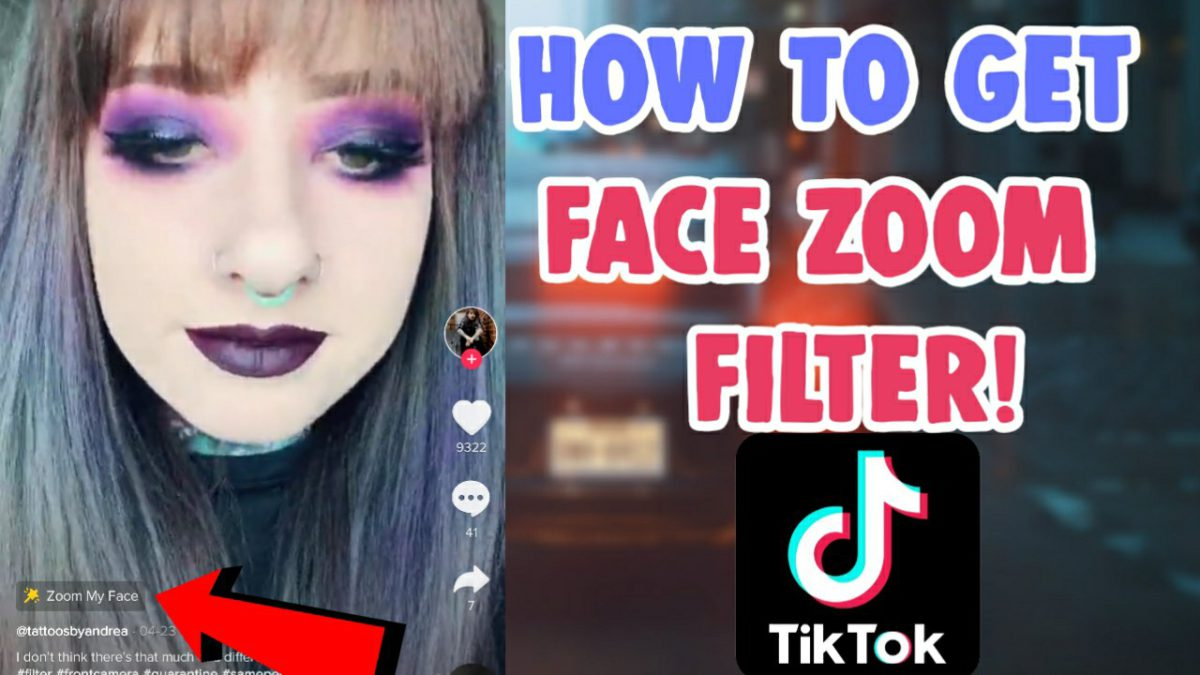 How To Get Face Zoom Effect Filter On Tiktok Icon And Instagram Salu Network