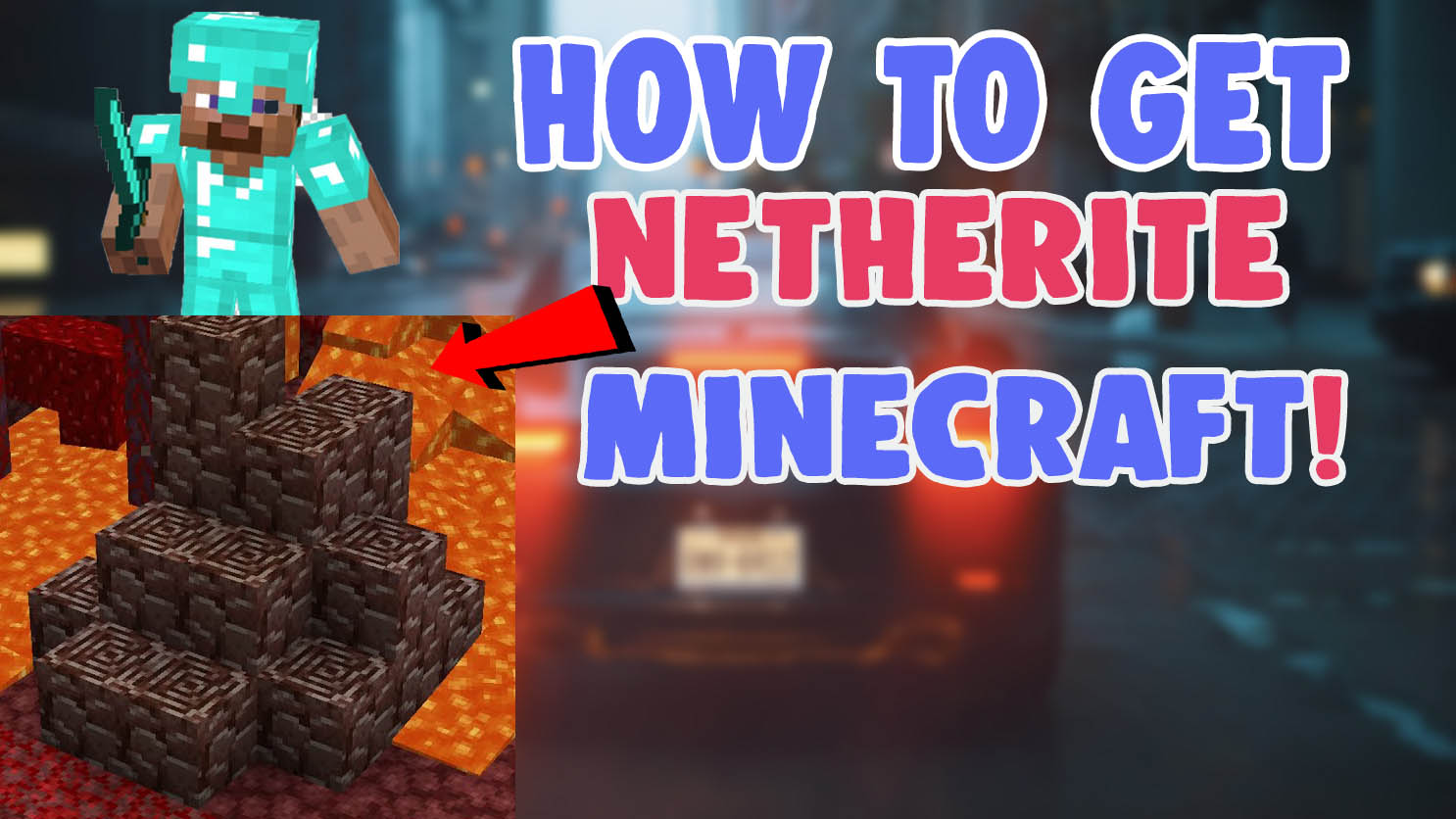 how to get and find netherite ancient debris in minecraft