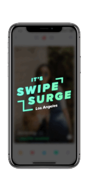 what is tinder swipe surge