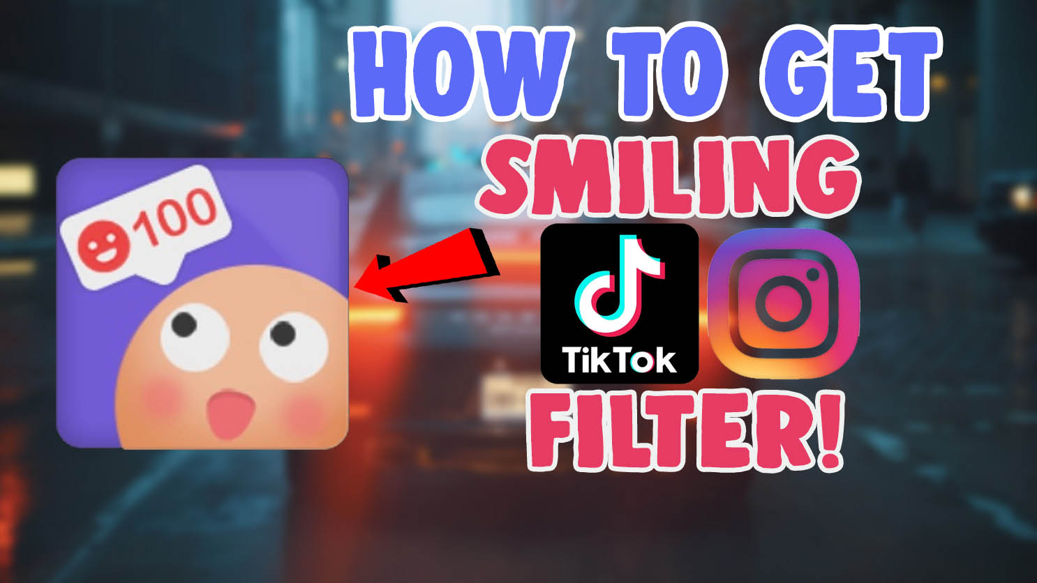 smiling filter tiktok clouds filter instagram