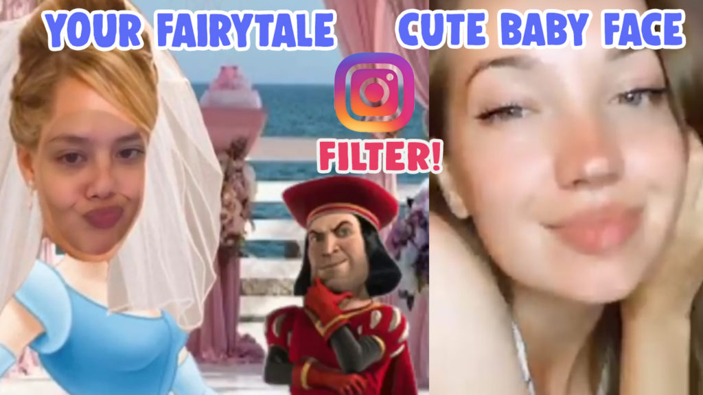 cute baby face your fairytale filter instagram