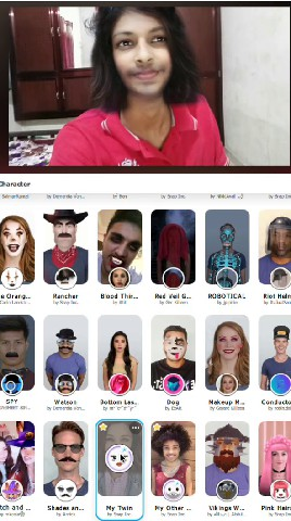 use snapchat filters for zoom google meets skype video calls pc