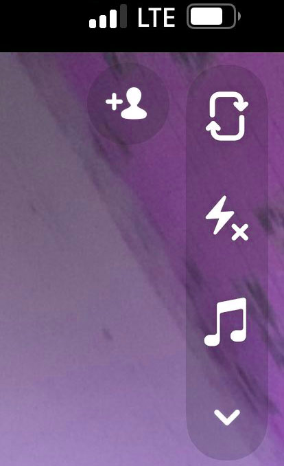 access music filter on snapchat