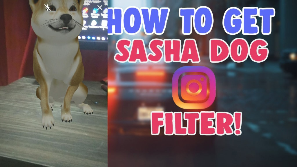 how to get dog filter instagram