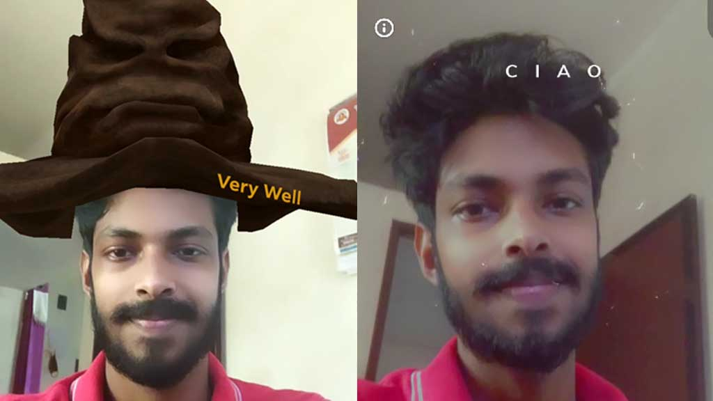 hogwarts sorting hat filter tiktok instagram