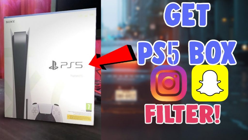 how to get ps 5 filter on instagram