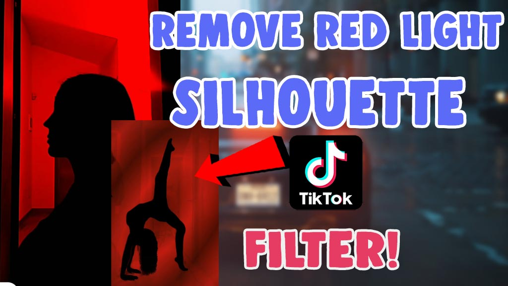 How To Remove Red Light Filter On Silhouette Challenge Salu Network