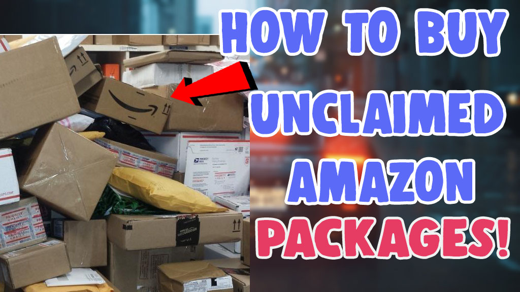 how to buy unclaimed amazon packages