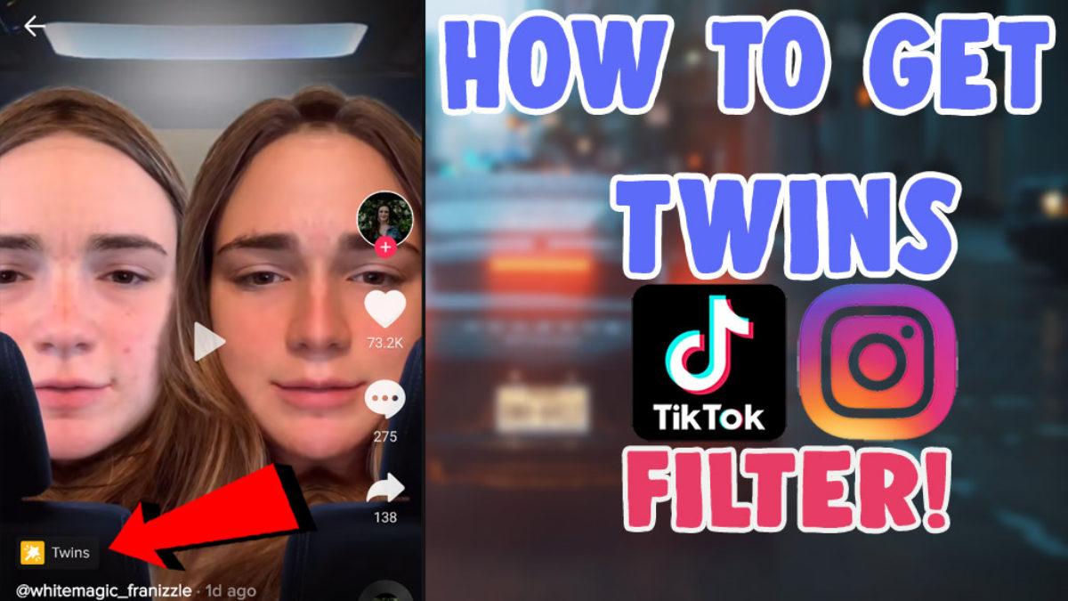 How To Get Twins Filter Tiktok Roll Your Character Instagram Filter Salu Network
