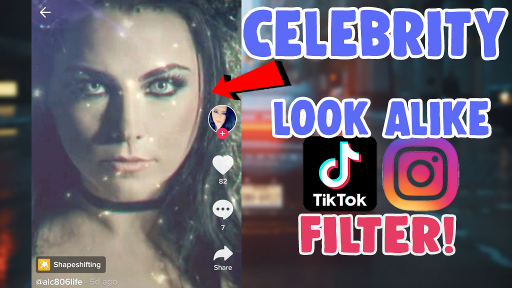 filter that shows what celebrity you look like