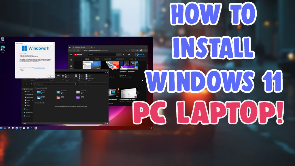 how to download install windows 11 pc laptop