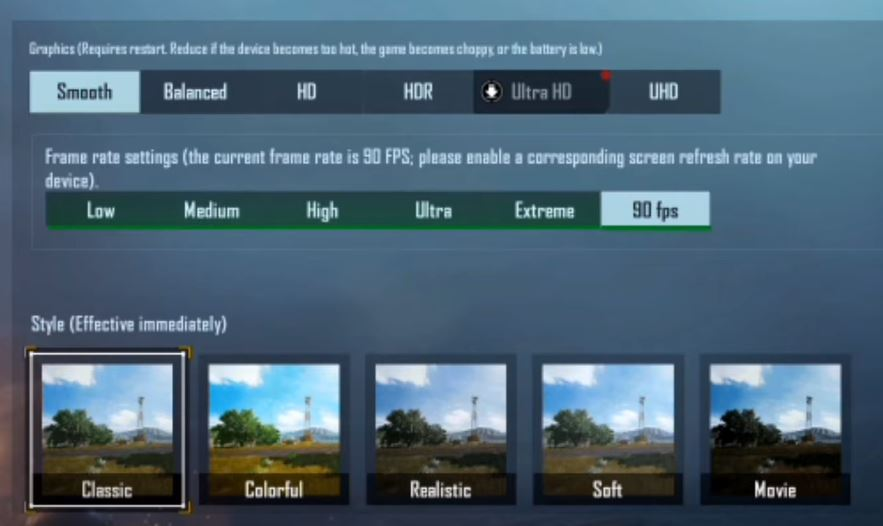 how to get unlock 90 fps pubg mobile android