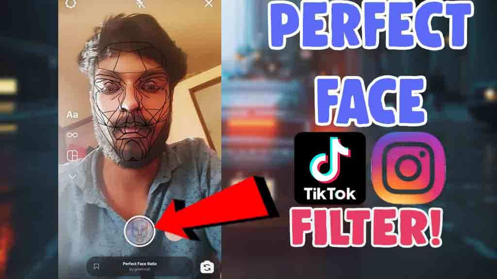 get perfect face filter instagram