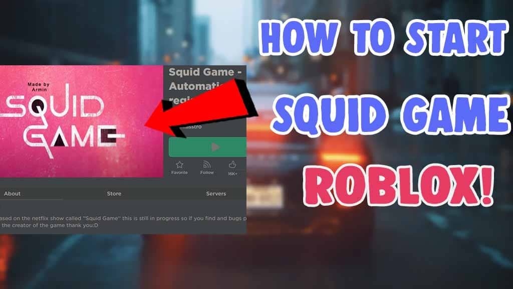 how to start squid game in