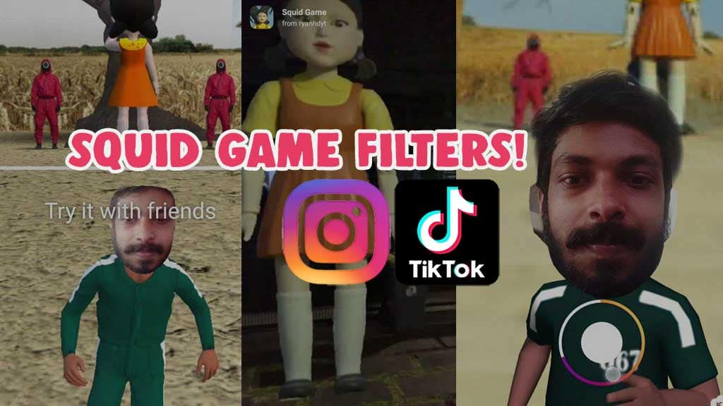 how to get squid game filter effect instagram