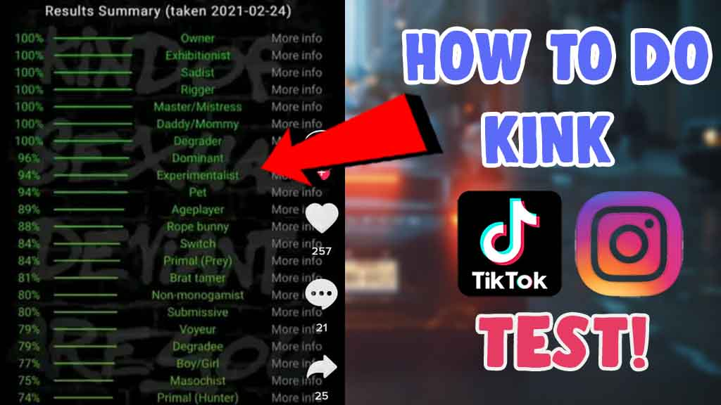 whats is kink test tiktok trend how to do